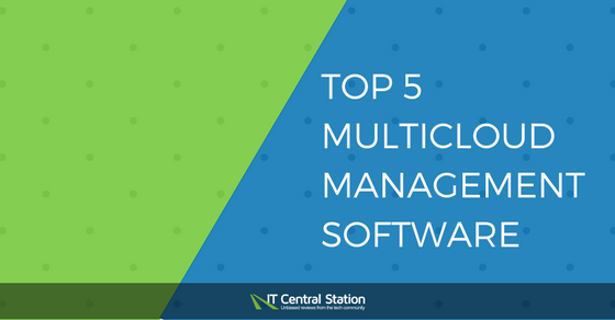 Top 5 Multicloud Management Software Providers