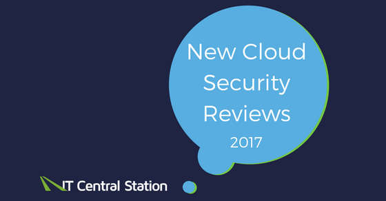 New Cloud Security Reviews 2017