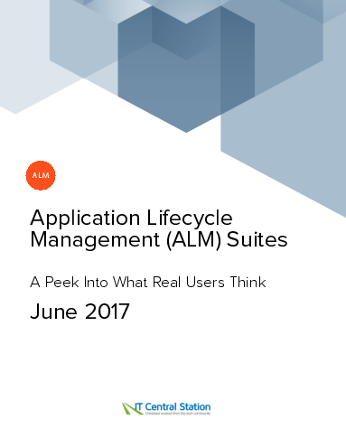 Application lifecycle management %28alm%29 suites report from it central station 2017 06 17