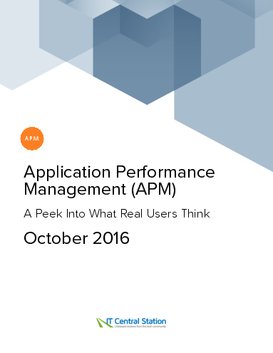 Application performance management %28apm%29 report from it central station 2016 10 22