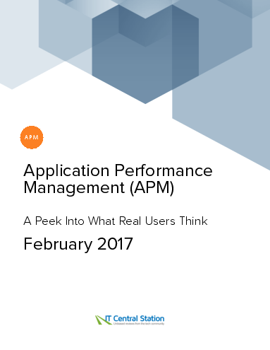 Application performance management %28apm%29 report from it central station 2017 02 18
