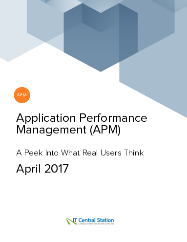 Application performance management %28apm%29 report from it central station 2017 04 29