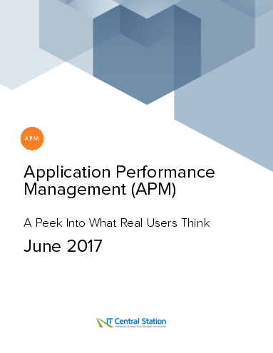 Application performance management %28apm%29 report from it central station 2017 06 24
