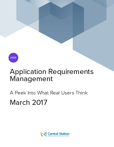 Application requirements management report from it central station 2017 03 04