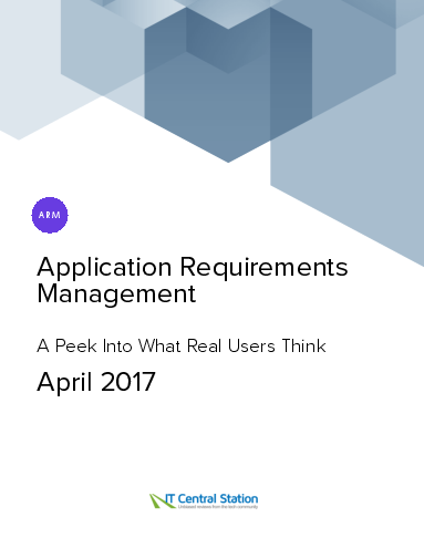 Application requirements management report from it central station 2017 04 08