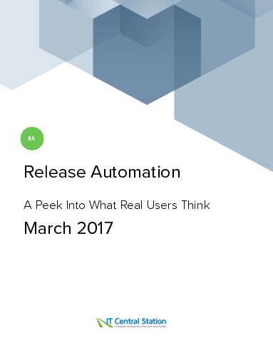 Release automation report from it central station 2017 03 18