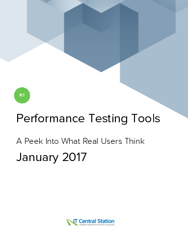 Performance testing tools report from it central station 2017 01 07
