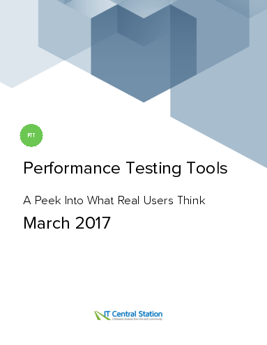 Performance testing tools report from it central station 2017 03 25
