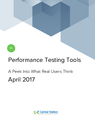 Performance testing tools report from it central station 2017 04 29