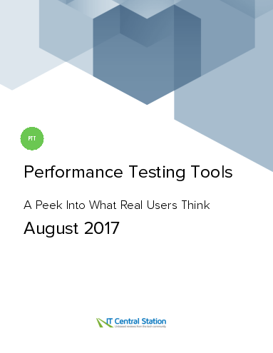 Performance testing tools report from it central station 2017 08 12 thumbnail