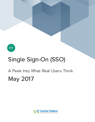 Single sign on %28sso%29 report from it central station 2017 05 27