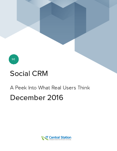 Social crm report from it central station 2016 12 18
