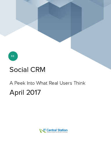 Social crm report from it central station 2017 04 22