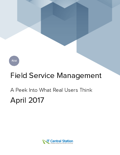 Field service management report from it central station 2017 04 22