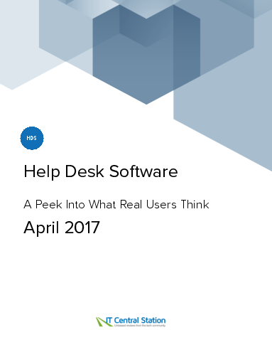 Help desk software report from it central station 2017 04 29