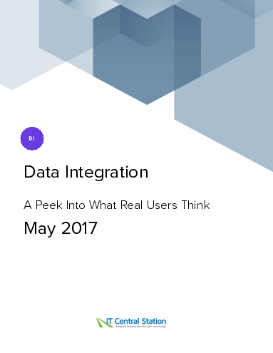 Data integration report from it central station 2017 05 27
