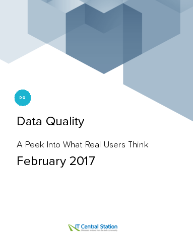 Data quality report from it central station 2017 02 11