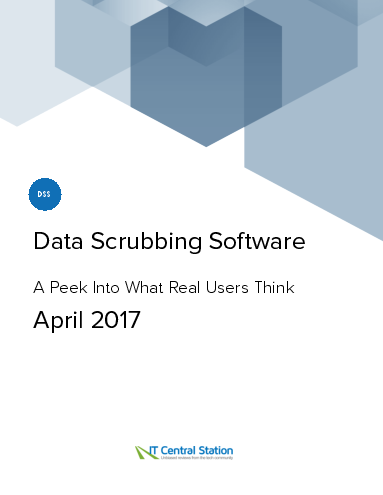 Data scrubbing software report from it central station 2017 04 22