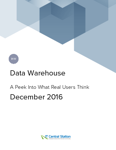 Data warehouse report from it central station 2016 12 18