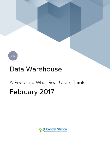 Data warehouse report from it central station 2017 02 18