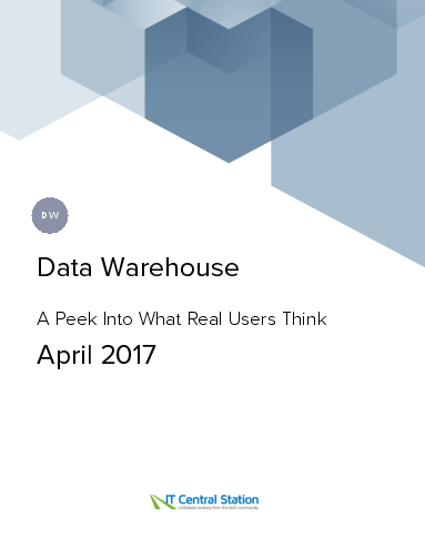 Data warehouse report from it central station 2017 04 08