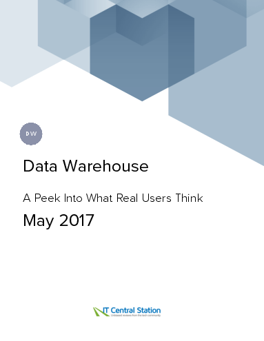 Data warehouse report from it central station 2017 05 13