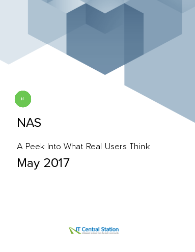 Nas report from it central station 2017 05 20