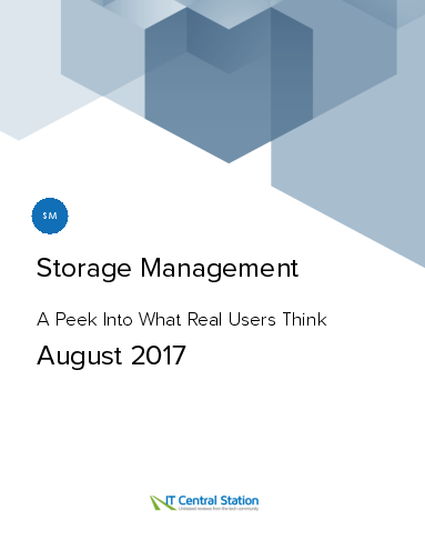 Storage management report from it central station 2017 08 05 thumbnail