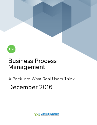 Business process management report from it central station 2016 12 18
