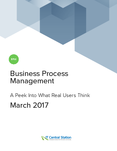 Business process management report from it central station 2017 03 18