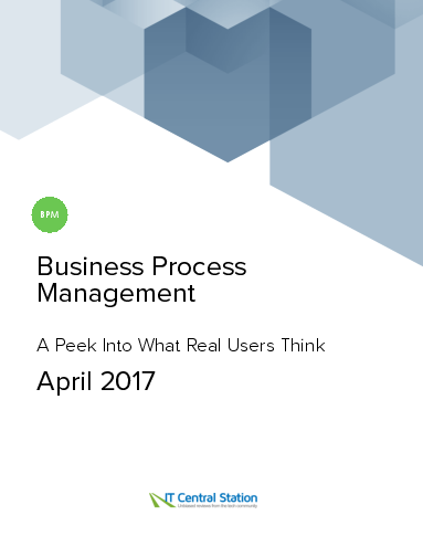 Business process management report from it central station 2017 04 08
