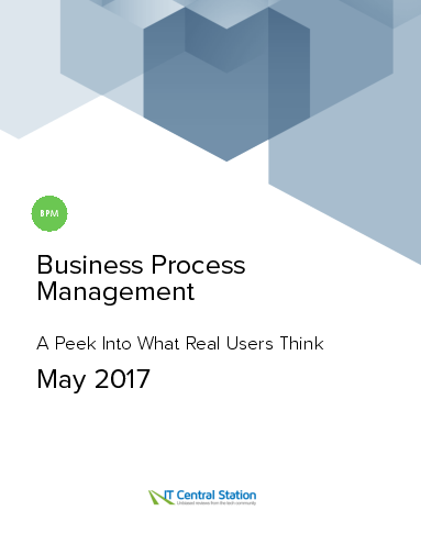 Business process management report from it central station 2017 05 13