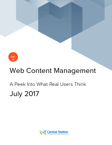 Web content management report from it central station 2017 07 01 thumbnail
