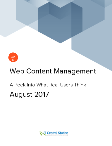 Web content management report from it central station 2017 08 05 thumbnail