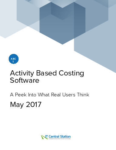 Activity based costing software report from it central station 2017 05 27