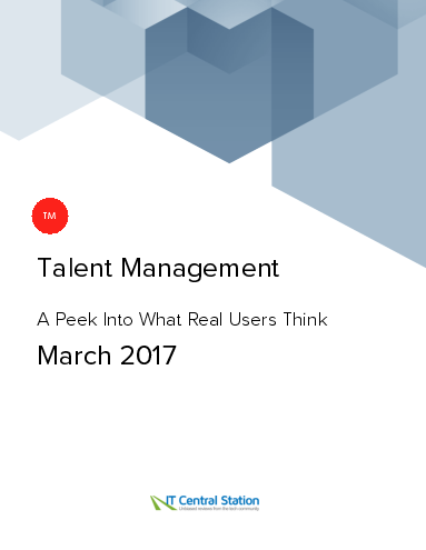 Talent management report from it central station 2017 03 15