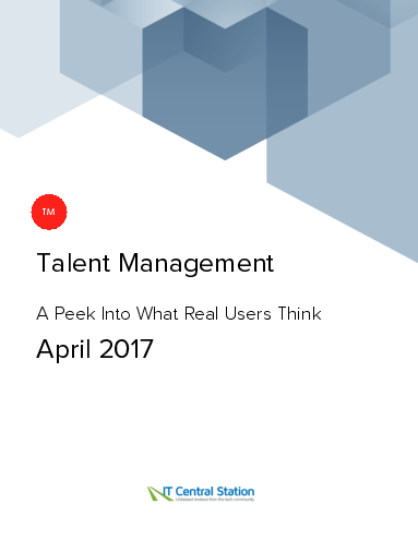 Talent management report from it central station 2017 04 01