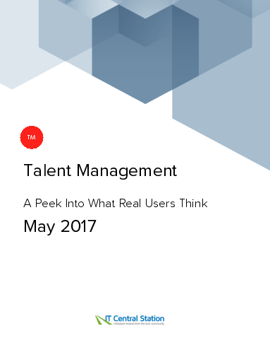 Talent management report from it central station 2017 05 06