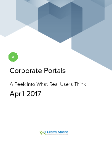 Corporate portals report from it central station 2017 04 01