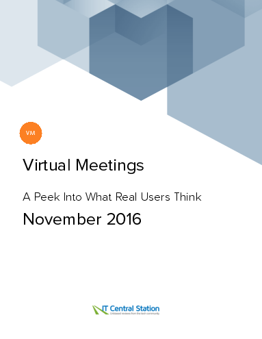 Virtual meetings report from it central station 2016 11 26