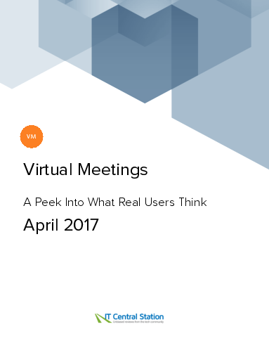 Virtual meetings report from it central station 2017 04 29