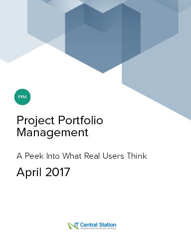Project portfolio management report from it central station 2017 04 22