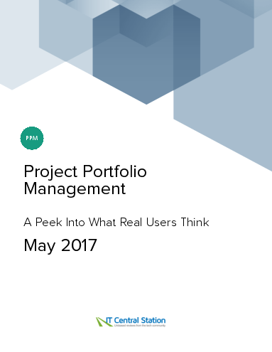 Project portfolio management report from it central station 2017 05 20