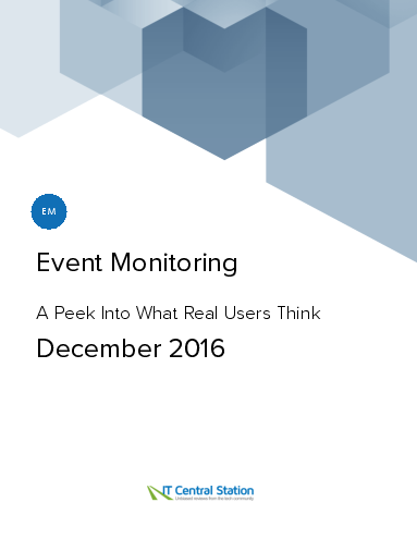 Event monitoring report from it central station 2016 12 18