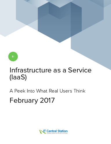 Infrastructure as a service %28iaas%29 report from it central station 2017 02 18