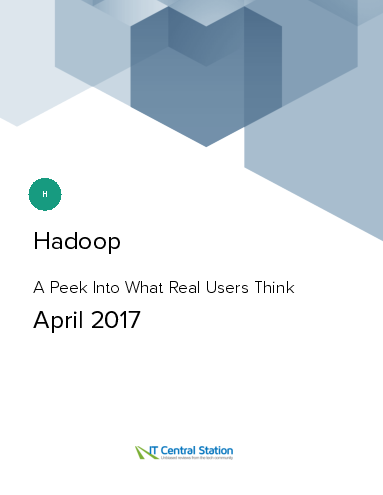 Hadoop report from it central station 2017 04 22