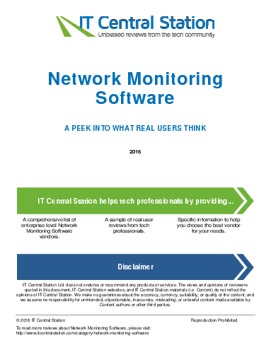 Network monitoring software report from it central station 2016 05 28q14