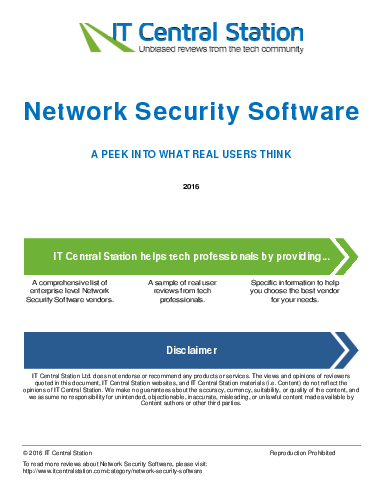 Network security software report from it central station 2016 08 27p4
