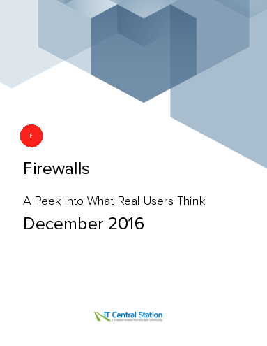 Firewalls report from it central station 2016 12 18