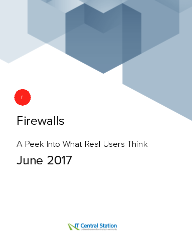 Firewalls report from it central station 2017 06 10